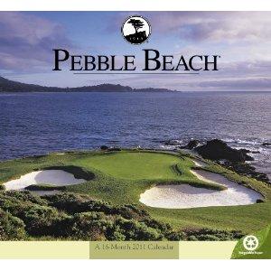 2011 Pebble Beach Wall Calendar