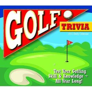 Golf Trivia 2011 Daily Boxed Calendar